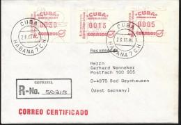 Kuba. - Automatenmarken - Kuba
