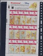 BELGIQUE - BELGIE Mijn Zegel Lot Van 15 Postzegels WINNIE THE POOH Volledig Vel 32/50 - Belgique