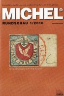 MICHEL Briefmarken Rundschau 1/2016 Neu 6€ New Stamps Of The World Catalogue/magacine Of Germany ISBN 978-3-95402-600-5 - Hobbies & Collections