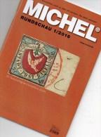 MICHEL Briefmarken Rundschau 1/2016 Neu 6€ New Stamps Of The World Catalogue/magacine Of Germany ISBN 978-3-95402-600-5 - Tijdschriften: Abonnementen
