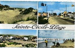 62 - Sainte-Cécile-Plage ; Multivues. - Autres Communes