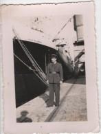 Photo originale Marine Paquebot Ville de Verdun � Marseille 1940