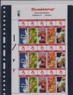 BELGIQUE - BELGIE Mijn Zegel Lot Van 15 Postzegels Duostamps Derden - Hallmark 8 - ZWANEN Volledig Vel - Belgique