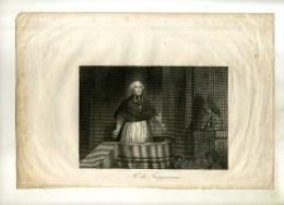 - Mr DE FRAYSSINOUS . EAU FORTE  DU XIXe S. - Religion &  Esoterik