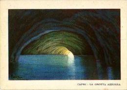 CAPRI       H780       La Grotta Azzurra ( Voir Timbre ) - Italien
