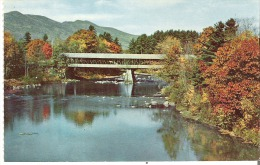 The Covered Bridge at Conway, New Hampshire One of the finest in the State of  New Hampshire