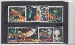 Tematica  Spazio   Dahomey 7 Stamps Used - Benin - Dahomey (1960-...)