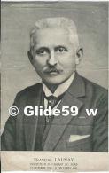 François LAUNAY - Inspecteur D'Académie Du Nord - 1er Octobre 1930 - 31 Décembre 1935 - Identifizierten Personen
