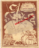 PROTEGE CAHIER CENDRILLON- CHOCOLAT MENIER - SERVICE IMAGE 56 RUE DE CHATEAUDUN - 75- PARIS 9E - Buvards, Protège-cahiers Illustrés