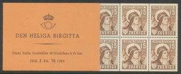 SUEDE 1941 - CARNET  YT C290a - Facit H60 - Neuf ** MNH - Sainte Brigitte - Carnets