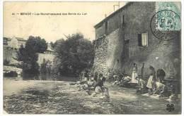 Mende - Les Blanchisseuses Des Bords Du Lot - Mende