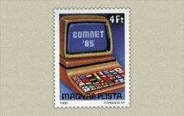 Hungary 1985. Comnet Stamp MNH (**) Michel: 3781 / 0.70 EUR - Ungebraucht
