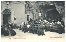 Mende - Saint Privat  - Pèlerinage - Pendant Le Sermon Devant La Grotte - Mende