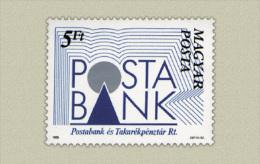 Hungary 1989. Post Bank Stamp MNH (**) Michel: 4007 / 0.60 EUR - Ungebraucht