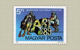 Hungary 1989. Arts Stamp MNH (**) Michel: 4018 / 0.60 EUR - Ungebraucht