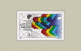 Hungary 1989. Pentathlon Stamp MNH (**) Michel: 4010 / 0.50 EUR - Ungarn