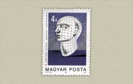Hungary 1988. Computer Graphics Stamp MNH (**) Michel: 3964 / 0.60 EUR - Ungebraucht