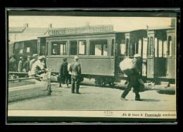 Poperinghe  Poperinge  - Geen postkaart maar een knipsel uit een magazine van 1934 -  TRAM