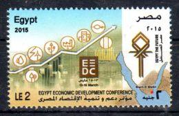 Egypte, 2015, Egypte Economic Developement Conference,  Neuf **, Lot 44494 - Nuovi