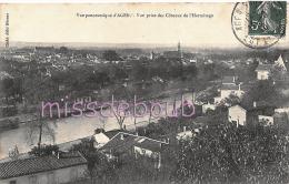 47 -  AGEN - Vue Panoramique Prise Des Cotezaux De L'Ermitage -  1910 - 2 Scans - Agen