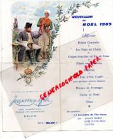 51 - REIMS - NAPOLEON 1ER EN 1810- MENU NOEL 1965-  JACQUESSON & FILS- CHAMPAGNE- IMPRIMERIE LACHAISE BRIVE - Menus