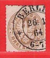 MiNr.18a O Altdeutschland Preussen - Preussen
