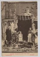 Antwerpen Berchem Gezin Bij Vernield Huis In Leemputstraat - Guerre 1914-18