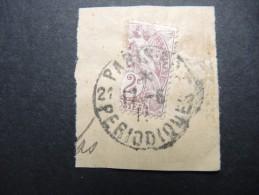 FRANCE - Moitié De N° 108 Sur Fragment - Obl Pour Périodique - A Voir - P 16260 - Variétés Et Curiosités