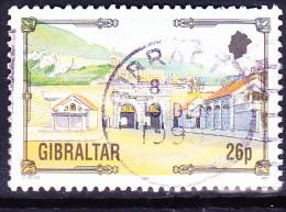 Gibraltar - Südhafen-Tor (Mi.Nr.: 671) 1993 - Gest. Used Obl. - Gibraltar