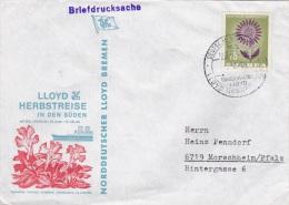 Ship Cover: M/S Berlin - Lloyd Herbstreisen In Den Süden P/m Deutsche Sciffpost 1964 (SKO1-22) - Ships