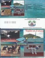 WALLIS & FUTUNA(chip) - Discipline Mini-jeux 2013(no Number), Tirage 5000, Used - Wallis-et-Futuna