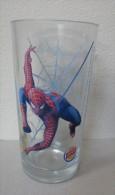 AC - YEDIGUN - BURGER KING - SPIDERMAN - RARE GLASS FROM TURKEY - Other Bottles
