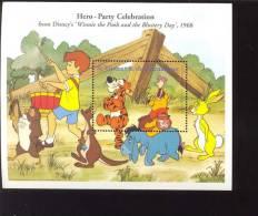 #  561  MINT NEVER HINGED SOUVENIR SHEET OF DISNEY ; WINNIE THE POOH   (  ST.VINCENT  GR  2577 - Disney