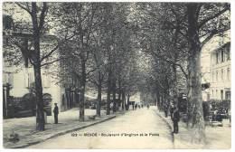 Mende - Boulevard D'Angiran Et La Poste - Mende