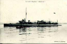 """N°46991 -cpa Le Contre Torpilleur """"Bombarde"""" - Guerra"""
