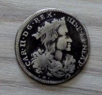 ITALIE - 20 GRANA 1699. CHARLES II. ARGENT SILVER - Monnaies Régionales