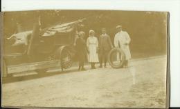 ALTE AUTO   --   UNFALL  --  ORIGINAL  PHOTO   --   14 Cm X 8,3 Cm - Automobile