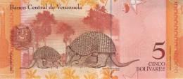 VENEZUELA P. 89 5 B 2007 UNC - Venezuela