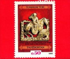 TAGIKISTAN - Usato - 1992 - Tesori Nazionali - Cacciatore - 0.50 - Tagikistan