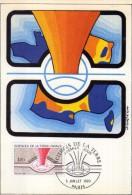2949  Maxima Francia Sciencies De La Terre Paris 1980 Ciencias De La Tierra - Cartas Máxima