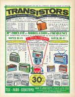 Ancienne Publicite (1962) : Radio, TRANSISTORS, Pygmy Isotron Et Varitron, Pizon, Radialva Prestige, Schaub-Lorenz... - Publicités