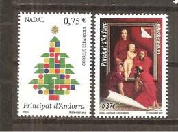 Andorra Española - Yvert 396-97 (MNH/**) - Andorra Española