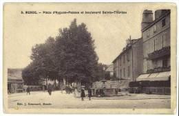 Mende - Place D'Aygues-Passes Et Boulevard Sainte-Thérèse - Mende