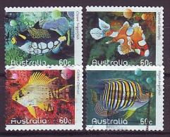 AUSTRALIEN - 2010 - MiNr. 3401-3404 BC - Fische - Gestempelt - Used - 2010-... Elizabeth II