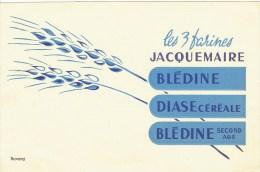 """BUVARD """" Les 3 Farines JACQUEMAIRE """" Blédine, Diase & Blédine Second âge - Kids"""