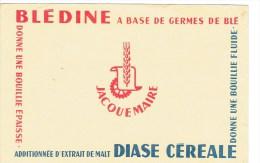 """BUVARD """" BLEDINE A Base De Germes De Blé Additionnée D'extrait De Malt"""" JACQUEMAIRE - Bambini"""