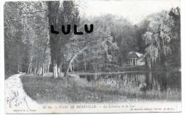 DEPT 91 : Précurseur  2 Scans : Parc De Méréville , La Laiterie Et Le Lac - Mereville