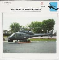Helikopter.- Helicopter.- Aérospatiale AS-355M2 - ECUREUIL 2 - Frankrijk. 2 Scans. Hélicoptère - Oude Documenten