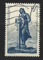 "Monaco YT 351 "" Statue Du Prince Albert 1er "" 1951 Oblitéré - Used Stamps"