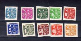 1945 Le Facteur Y 26-35  * Complet - Newspaper Stamps
